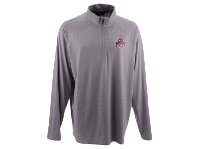 Top of the World NCAA Men's Big & Tall Lowry Microstripe Quarter Zip Pullover