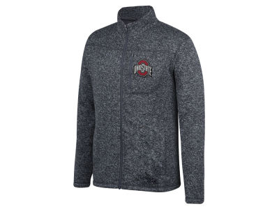 Top of the World NCAA Men's Pioneer Full Zip Marled Sweater