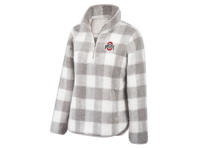 Top of the World NCAA Women's Buffalo Check Sherpa Pullover