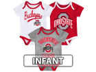 Ohio State Buckeyes Outerstuff NCAA Infant Champ 3piece Set Infant Apparel
