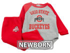 Ohio State Buckeyes Outerstuff NCAA Newborn Touchdown Long Sleeve Set T-Shirts