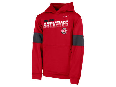 Nike NCAA Youth Therma Colorblock Hoodie