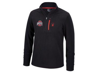 Top of the World NCAA Men's Transport Quarter Zip Fleece Pullover