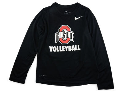 Nike NCAA Youth Core Volleyball Long Sleeve T-Shirt