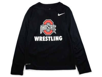 Nike NCAA Youth Core Wrestling Long Sleeve T-Shirt