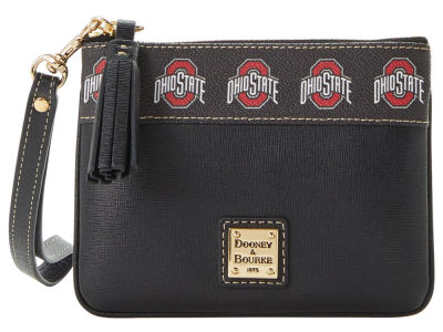 Dooney & Bourke Saffiano Stadium Zip Wristlet
