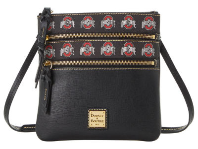 Dooney & Bourke Saffiano Triple Zip Crossbody