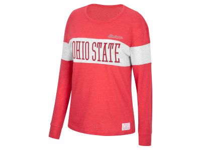 Top of the World NCAA Women's Colorblocked Long Sleeve T-Shirt