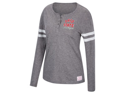 Top of the World NCAA Women's Henley Long Sleeve T-Shirt