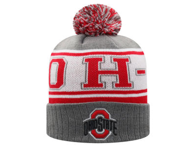 Top of the World NCAA OH-IO Pom Knit Hats