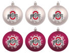 Ohio State Buckeyes Boelter Brands Shatterproof 6 pack Ball Set Holiday