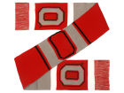 Ohio State Buckeyes Forever Collectibles Colorblock Cropped Big Logo Scarf Apparel & Accessories