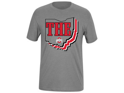 Top of the World NCAA Men's Helmet Stripe State Dual Blend T-Shirt