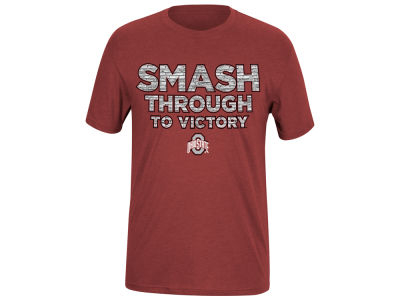 Top of the World NCAA Men's Smash Through to Victory Dual Blend T-Shirt