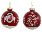 Ohio State Buckeyes 3inch Glitter Holiday Ball