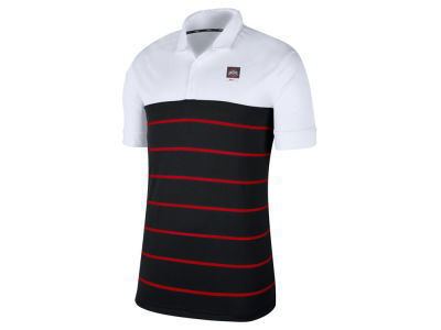 Nike NCAA Men's Striped Polo