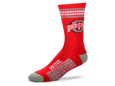 For Bare Feet 4 Stripe Deuce Crew 504 Sock