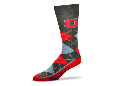 For Bare Feet NCAA Argyle Zoom Dress Socks