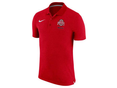 Nike NCAA Men's Knit Heathered Polo