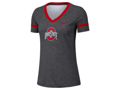 Nike NCAA Women's Slub V-neck T-Shirt