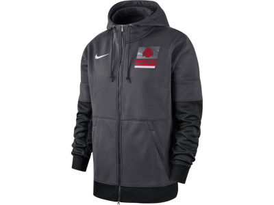 Nike NCAA Men's Therma Full Zip Hooded Sweatshirt Jacket