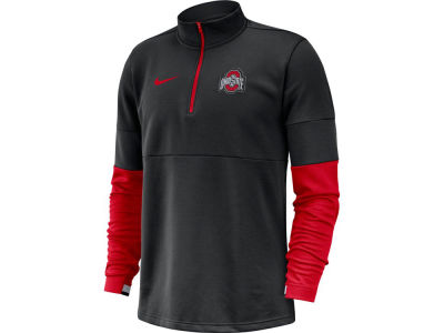 Nike NCAA Men's Therma Half Zip Pullover
