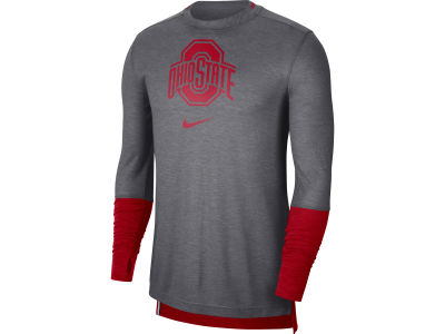 Nike NCAA Men's Breathe Player Long Sleeve Top