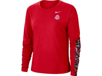 Nike NCAA Women's Breathe Long Sleeve T-Shirt