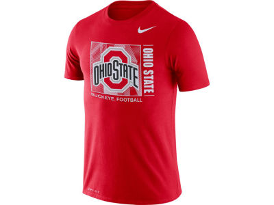 Nike NCAA Men's Dri-fit Cotton Team Issue T-Shirt