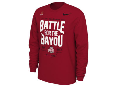 Nike NCAA Men's CFP Bowl Bound Verbiage Long Sleeve T-Shirt
