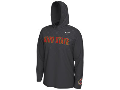 Nike NCAA Men's CFP Team Issue Long Sleeve Hooded T-Shirt