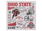 Ohio State Buckeyes Collage Deep Wood Block Collectibles