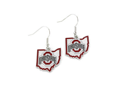 Aminco Inc. Heavyweight State Design Earrings