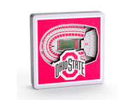 3D Stadium View Magnet Pins, Magnets & Keychains