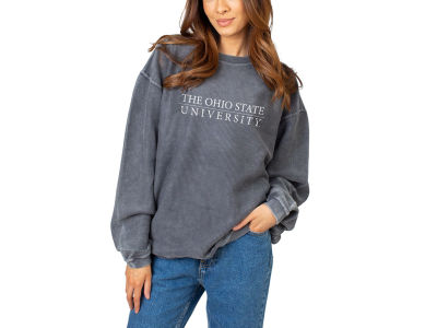 NCAA Women's Corded Crew Sweatshirt