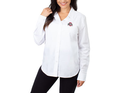 University Girl NCAA Women's Poplin Blouse