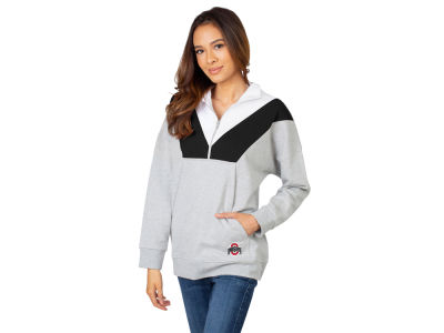University Girl NCAA Women's Colorblock Quarter Zip Pullover