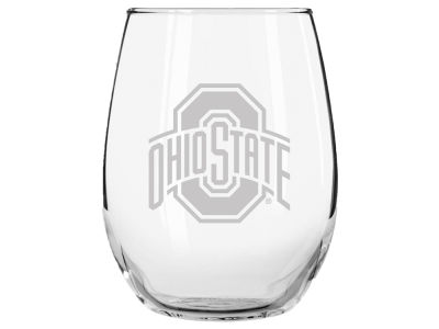 15oz Etched Stemless Glass