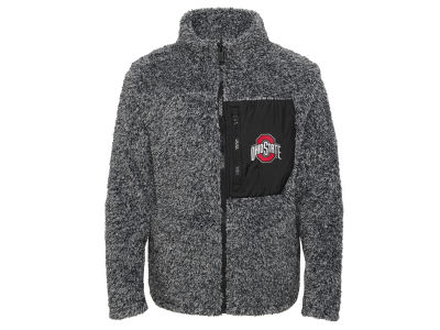 Outerstuff NCAA Girls Teddy Full Zip Fleece Jacket