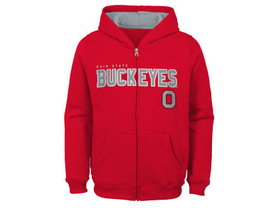 Outerstuff NCAA Kids Full Zip Hooded Sweatshirt