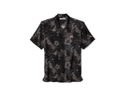 Tommy Bahama NCAA Men's Fuego Floral Camp Shirt