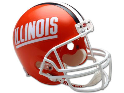 Illinois Fighting Illini NCAA Deluxe Replica Helmet