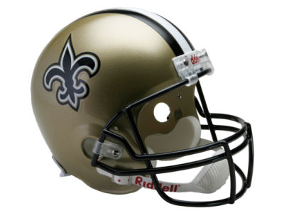New Orleans Saints NFL Deluxe Replica Helmet