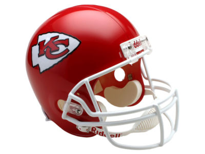 Kansas City Chiefs NFL Deluxe Replica Helmet