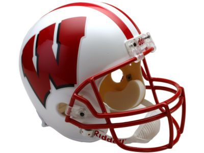 Wisconsin Badgers NCAA Deluxe Replica Helmet
